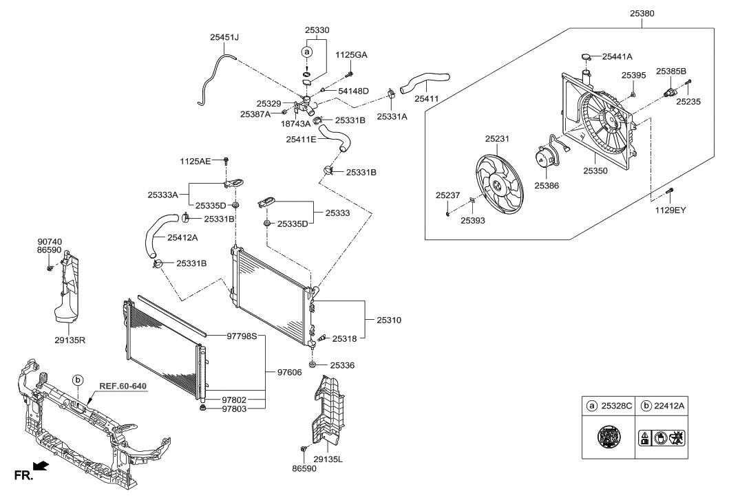 2014 hyundai elantra korean made engine cooling system new holland engine diagram hyundai engine cooling diagram #47