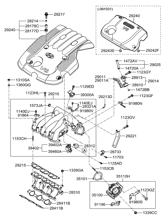 39402 3e500 genuine hyundai valve assembly solenoid rh hyundaipartsdeal com 2011 Hyundai Santa Fe Engine Diagram 2007 Hyundai Santa Fe Engine Diagram
