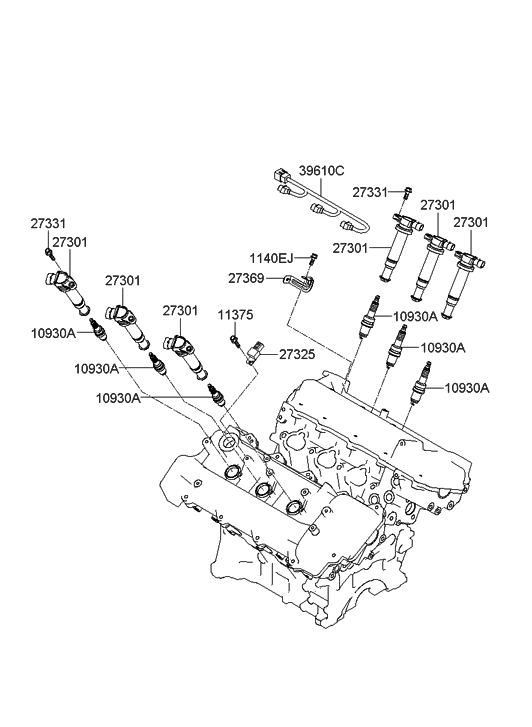Engine Diagram Of 2005 Hyundai Santum Fe 3 5l