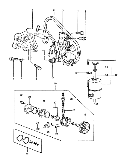 1988 Hyundai Excel Power Steering System - Hyundai Parts Deal