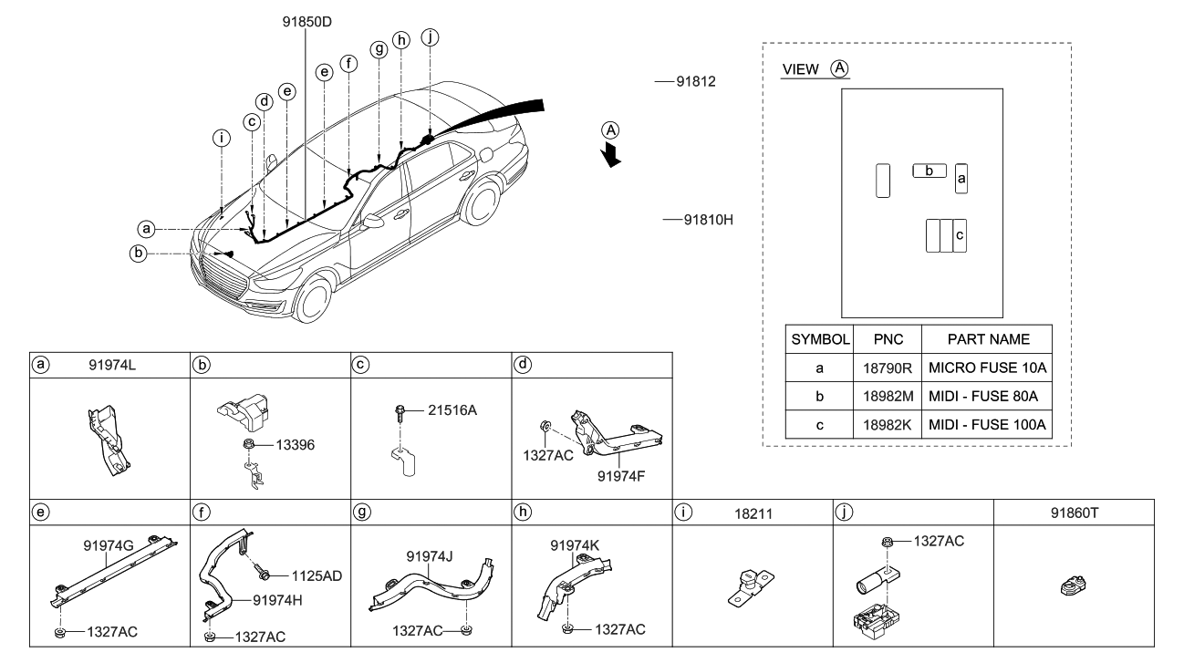 marvelous midi fuse diagram images