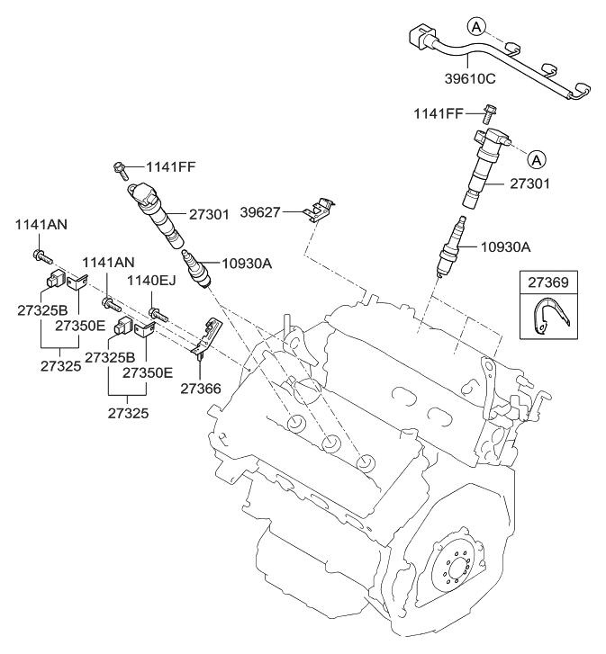 Strange 18846 11070 Genuine Hyundai Plug Assembly Spark Wiring Cloud Hisonuggs Outletorg