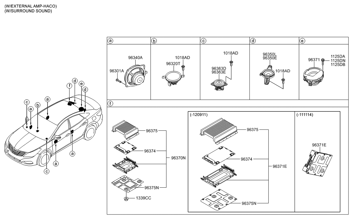 2012 Azera Wiring Diagram Library 2013 Hyundai Speaker Thumbnail 1