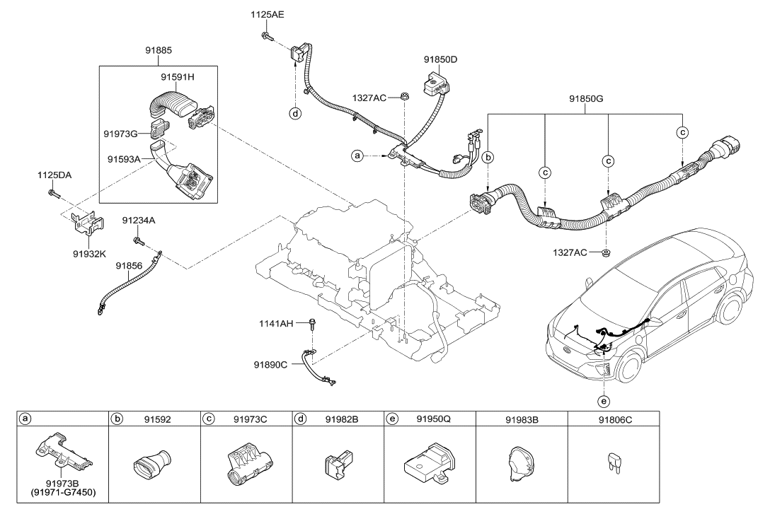 Hyundai Ioniq Wiring Diagram
