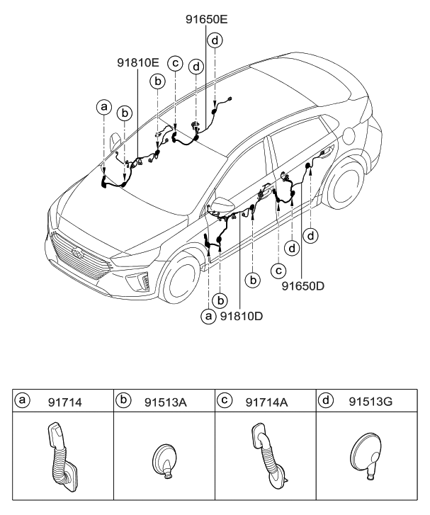 [DIAGRAM] Hyundai Ioniq Wiring Diagram FULL Version HD