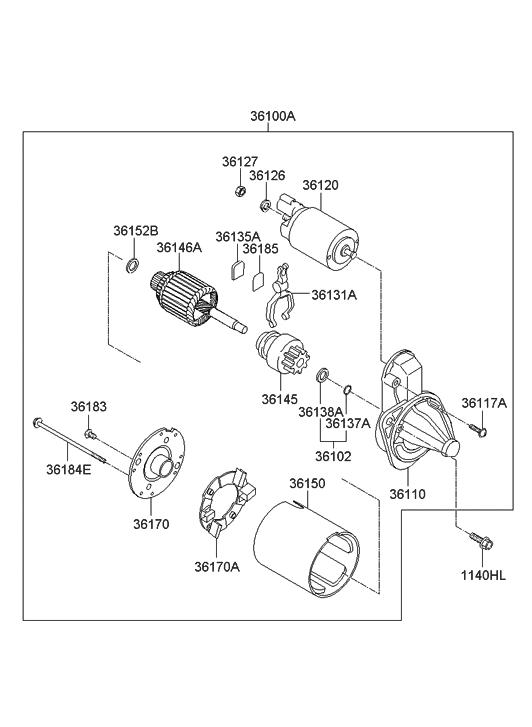 2014 Hyundai Accent Engine Diagram