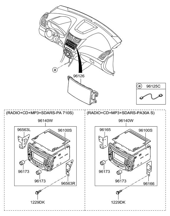 2014 Hyundai Accent Audio Hyundai Parts Deal