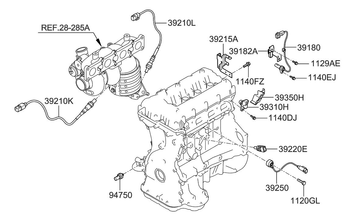 Hyundai 39210-2C200