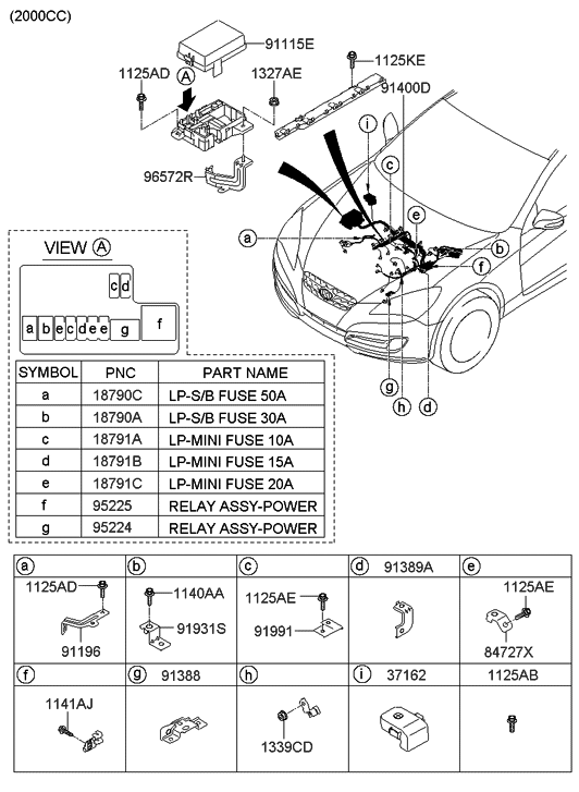 91410-2m040 - genuine hyundai wiring assembly-control infiniti g35 coupe wiring diagram #10
