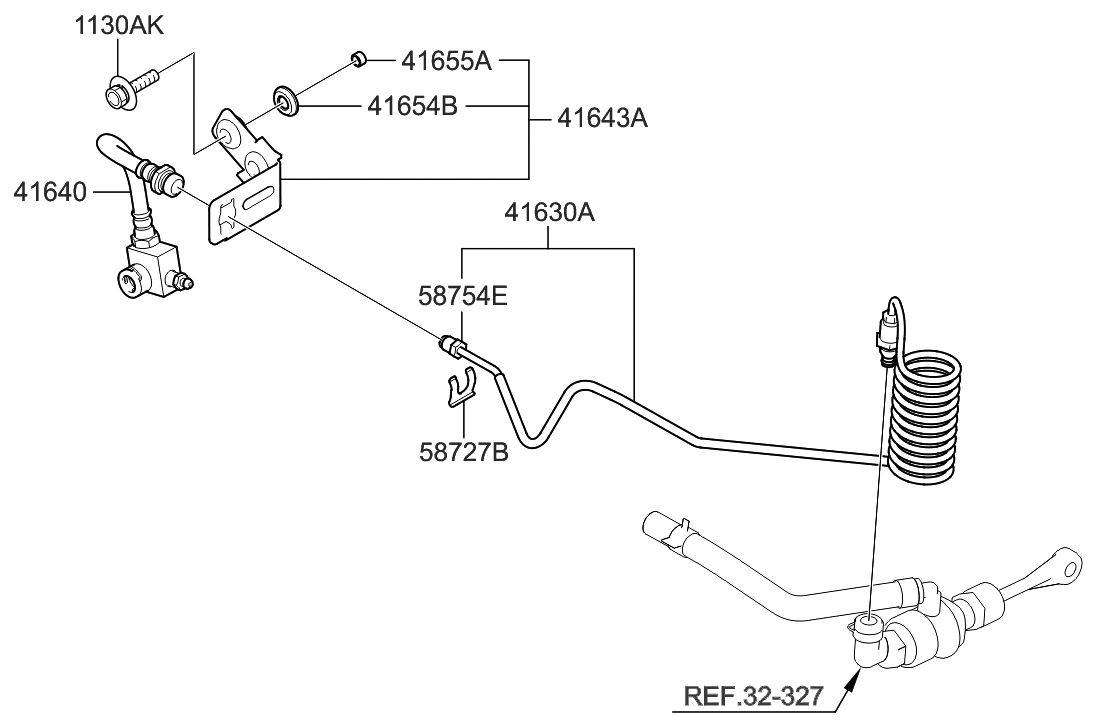 2011 Hyundai Genesis Coupe Clutch Master Cylinder Engine Diagram