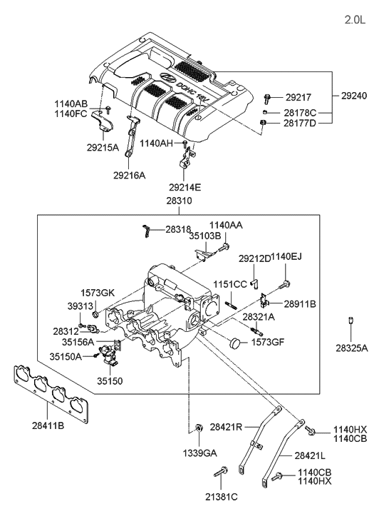 Perfect Hyundai: 2005 Hyundai Tucson Parts | 2005 Hyundai Tucson Engine Diagram |  | Perfect Hyundai - blogger