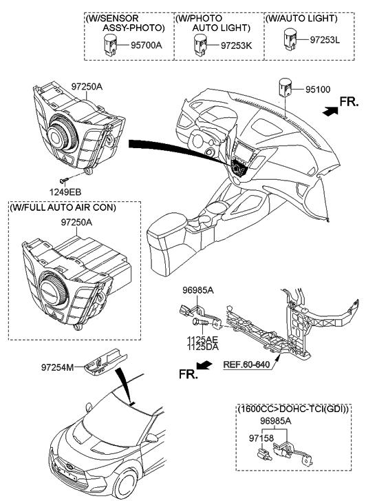 2014 hyundai veloster heater system