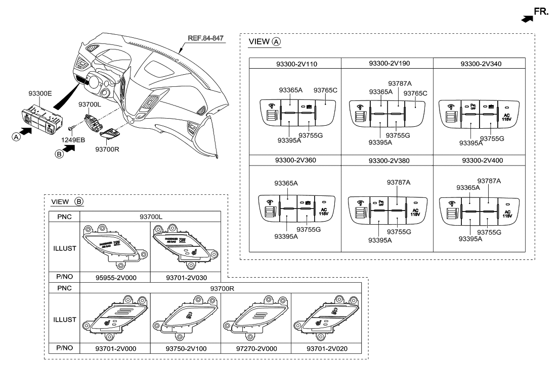 2012 Hyundai Veloster Switch Parts Deal Engine Diagram Thumbnail 1