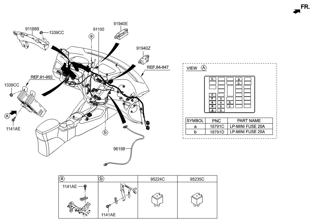 91940 1m500 genuine hyundai pdm relay box. Black Bedroom Furniture Sets. Home Design Ideas