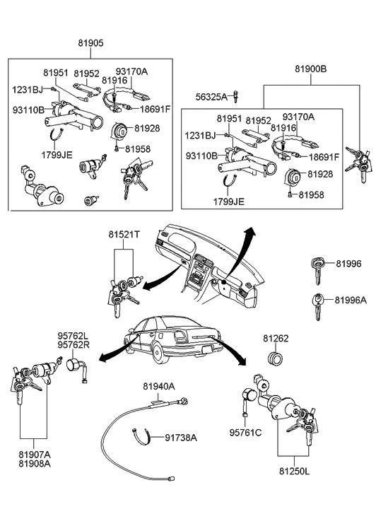 T9273776 Fuel filter located additionally T16384755 Fuse panel 2000 elantra diagram further Kia Sedona 2005 Fuse Box in addition RepairGuideContent moreover Jaguar Xjs Parking Brake Diagram. on 2001 hyundai xg300 engine diagram