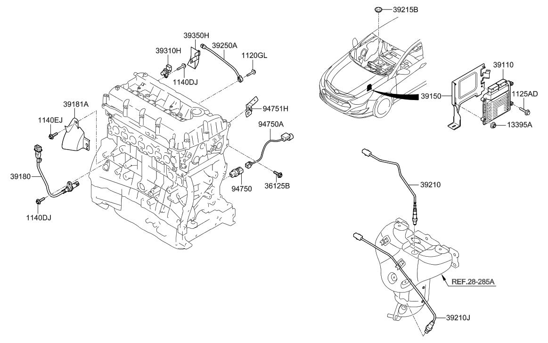 2015 Hyundai Sonata Hybrid Electronic Control Of Engine