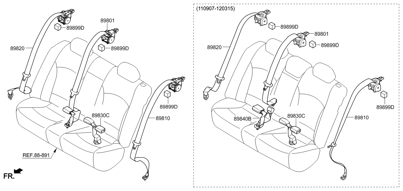 2013 Hyundai Sonata Hybrid Belt Diagram