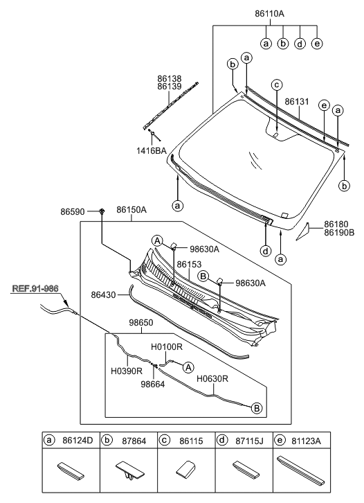 2015 hyundai sonata hybrid windshield glass hyundai parts deal. Black Bedroom Furniture Sets. Home Design Ideas