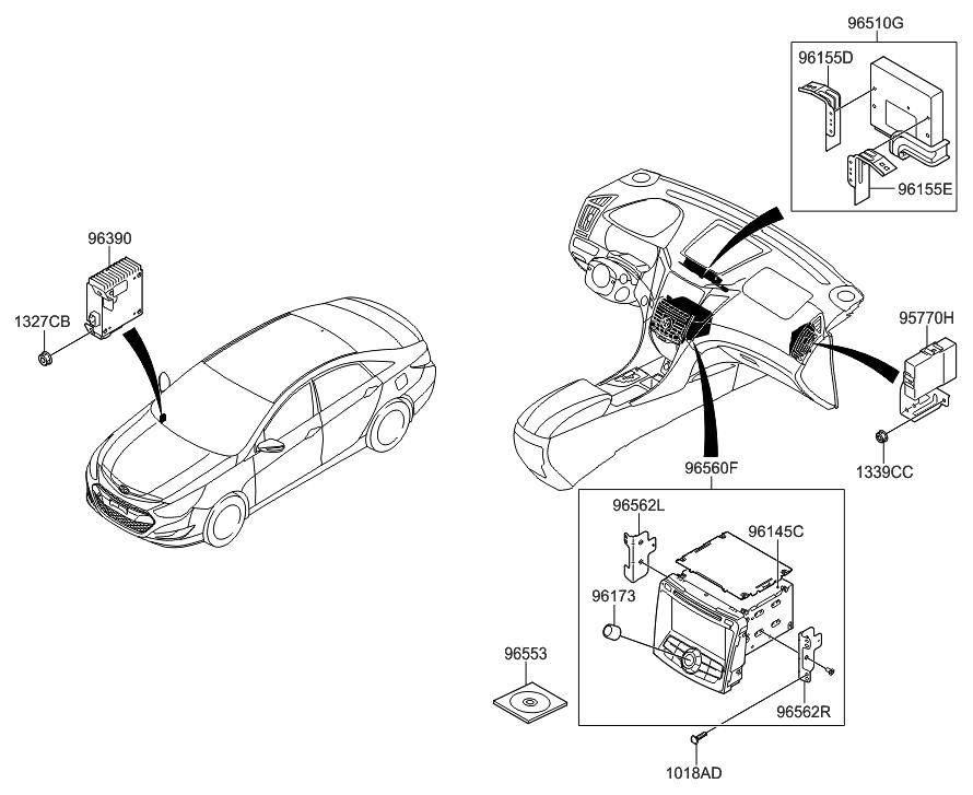 2011 Hyundai Sonata Hybrid Information System