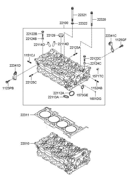 2013 Hyundai Sonata Hybrid Engine Diagram