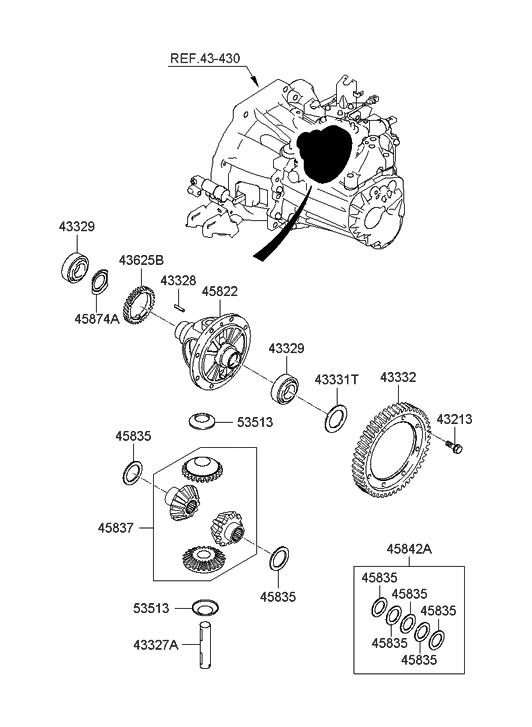 2010 Hyundai Accent Sdometer Parts Diagram • Wiring