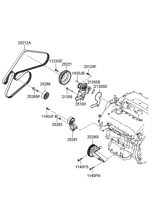 2008 Hyundai Santa Fe Parts Diagram. Hyundai. Auto Wiring