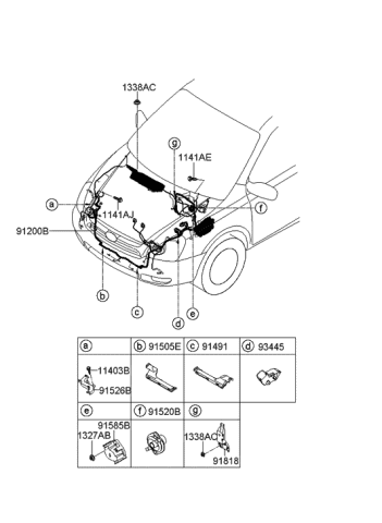 [SCHEMATICS_48IS]  2007 Hyundai Entourage Engine Wiring - Hyundai Parts Deal | 2007 Hyundai Entourage Engine Diagram |  | Genuine Hyundai Parts