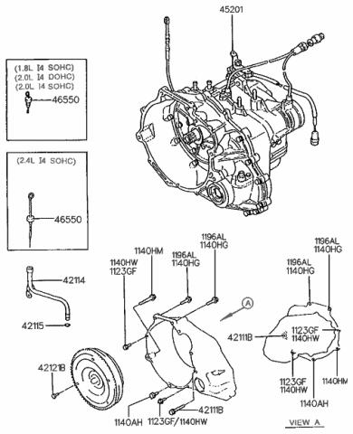 Parts Accessories For 1995 2005 Hyundai Accent Auto Trans Output Shaft Seal 89323td 2002 2003 1996 Automotive Klimotoserwis Pl