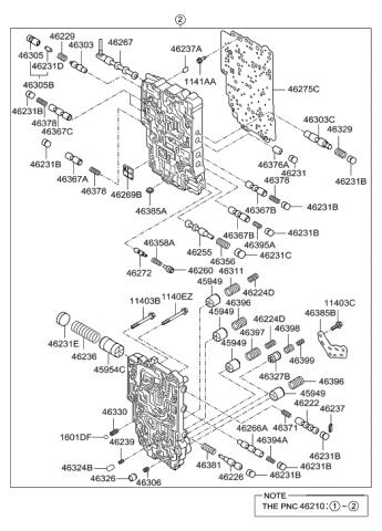 Genuine Hyundai 45231-3B000 Torque Converter Housing