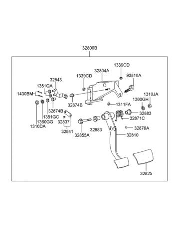 2004 Hyundai Xg350 Clutch Brake Control Hyundai Parts Deal