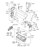 Related Parts for Hyundai Tucson Oil Pan - 21520-23604