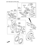 Related Parts for Hyundai Azera Brake Disc - 58411-3V500