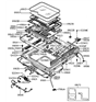 Related Parts for 1991 Hyundai Sonata Sunroof - 81610-33000