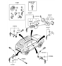 Related Parts for Hyundai Tucson Door Lock Cylinder - 81970-2EA10