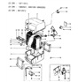 Related Parts for 1986 Hyundai Excel A/C Expansion Valve - 97623-21100