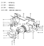 Related Parts for Hyundai Excel Blower Motor - 97116-21000