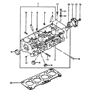 Related Parts for 1985 Hyundai Excel Cylinder Head - 22100-21300