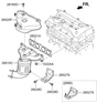 Related Parts for Hyundai Elantra Exhaust Manifold - 28510-2E000