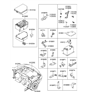 Related Parts for Hyundai Fuse - 91830-4A000