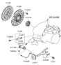 Related Parts for Hyundai Elantra Clutch Disc - 41100-32500