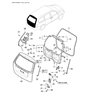 Related Parts for Hyundai Entourage Lift Support - 81781-4D010