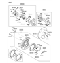 Related Parts for Hyundai Accent Brake Disc - 58411-1C800
