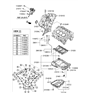 Related Parts for Hyundai Sonata Timing Cover - 21350-2G004