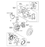 Related Parts for Hyundai Brake Disc - 58411-2P000