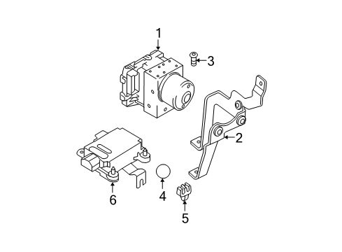 Diagram for Part No.: 58920-2C210