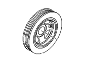 Hyundai Tucson Crankshaft Pulley - 23124-2G600