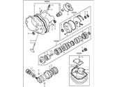 1986 Hyundai Excel Automatic Transmission Overhaul Kit - 45010-36000