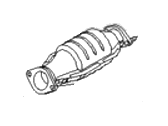 Hyundai Elantra Catalytic Converter - 28950-23230