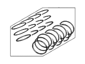 Hyundai Genesis G90 Piston Ring Set - 23040-3FAA0