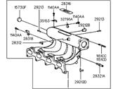 Genuine Hyundai 43350-26010 Triple Cone Ring Assembly